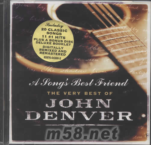 Annie S Song Fly Away: A SONG'S BEST FRIEND THE VERY BEST OF JOHN DENVER 价格 图片