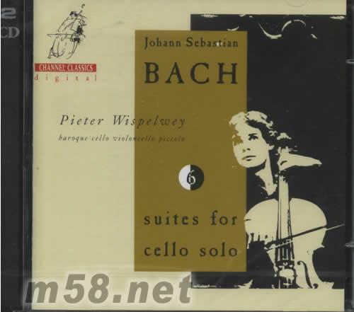 巴赫 6组大提琴独奏曲专辑正面图片