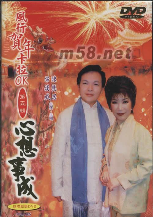 心想事成(风行贺年卡拉ok第五辑dvd) 图片展示