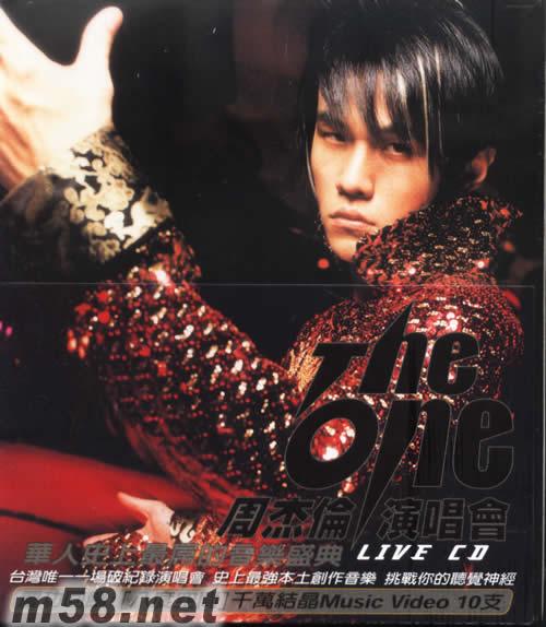 THE ONE周杰伦演唱会 2CD+DVD 价格 图片