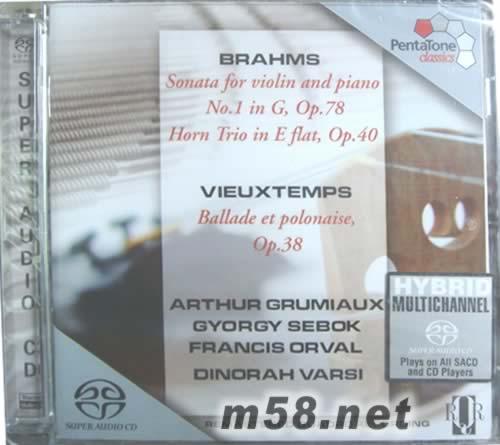 小提琴奏鸣曲和圆号三重奏 SACD 价格 图片 ARTHUR GRUMIAUX