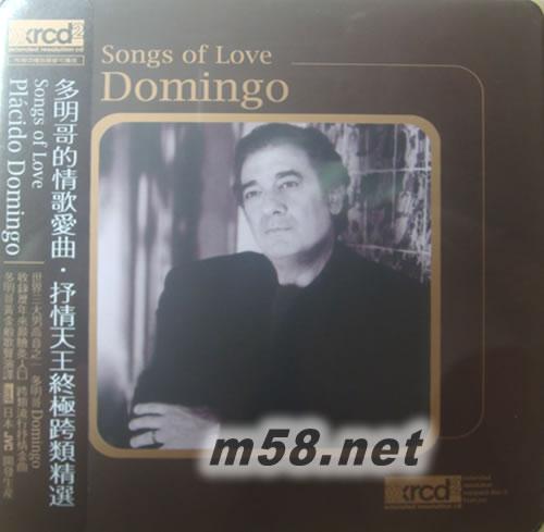 明歌情哥哥曲谱-SONGS OF LOVE 多明哥的情哥 ::音乐吧说明