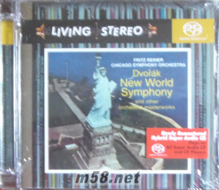 德沃夏克 第九交响曲 新世界 SACD特惠 价格 图片 Chicago Symphony